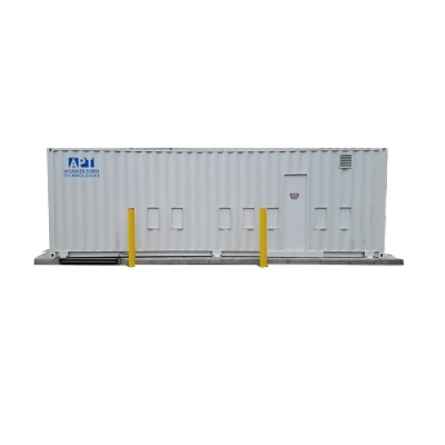 PwrContainer-Walk-In-electrical-house-e-house-equipment-integrated-power-assembly-rapid-deployment-metalclad-metal-enclosed-mcc-switchgear-solar-microgrid-APT-Power